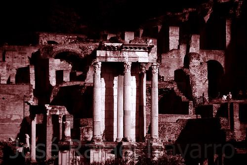 Roma en blanco y negro
