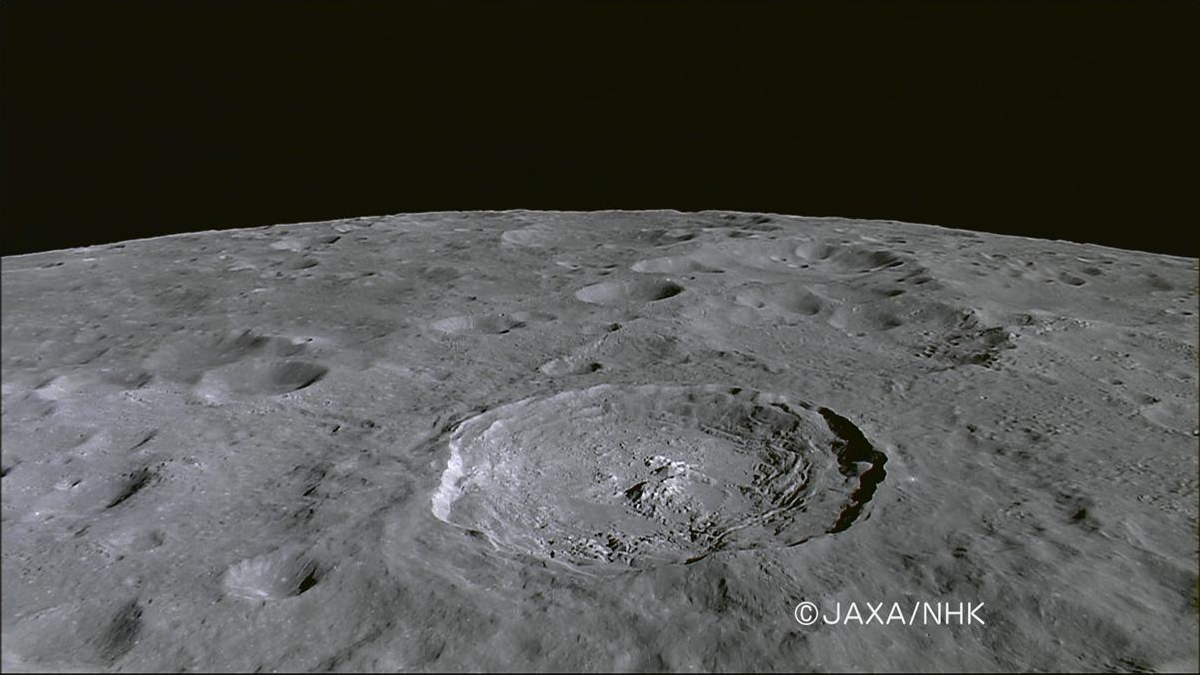 Jackson crater from Kaguya