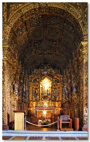 Capela-mor da igreja do Senhor de Matosinhos by VRfoto