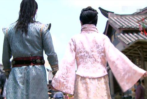 34-楊雪舞-與高長恭牽手
