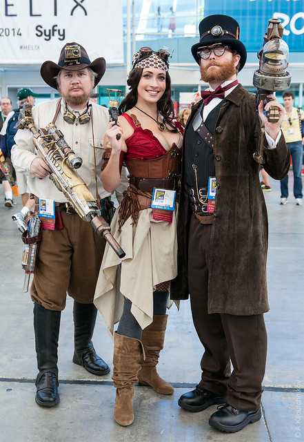 Amazing Steampunk Cosplay