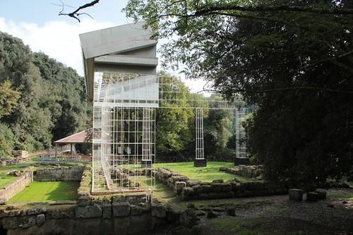 Santuario di Apollo: ricostruzione del  tempio