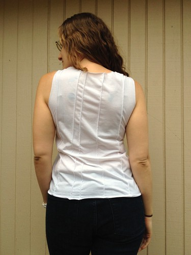 White Tank Refashion