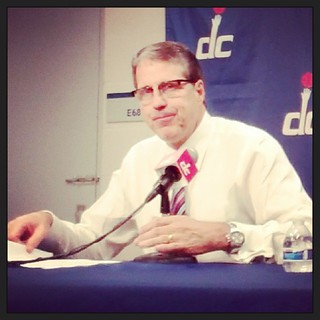 Game 2 #WittmanFace. #Wizards vs #76ers, Nov. 1, 2013.
