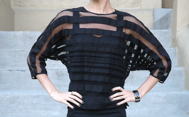 3 kelly wearstler cage shirt made in the usa mesh cut-out