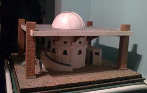 Maqueta del observatorio