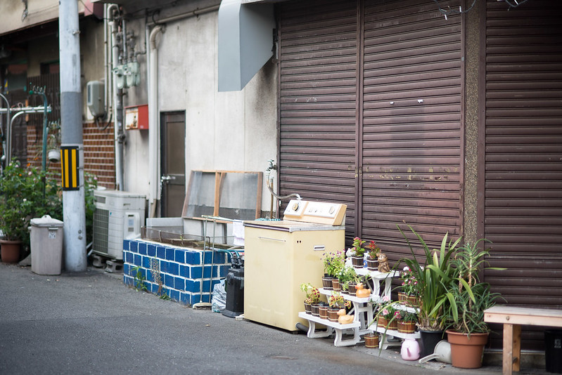 洗濯機on the street