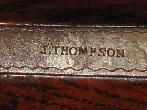 Mills & Thompson Rifle - Trigger Floor Plate