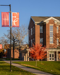 Landrum Bolling Center and Banners