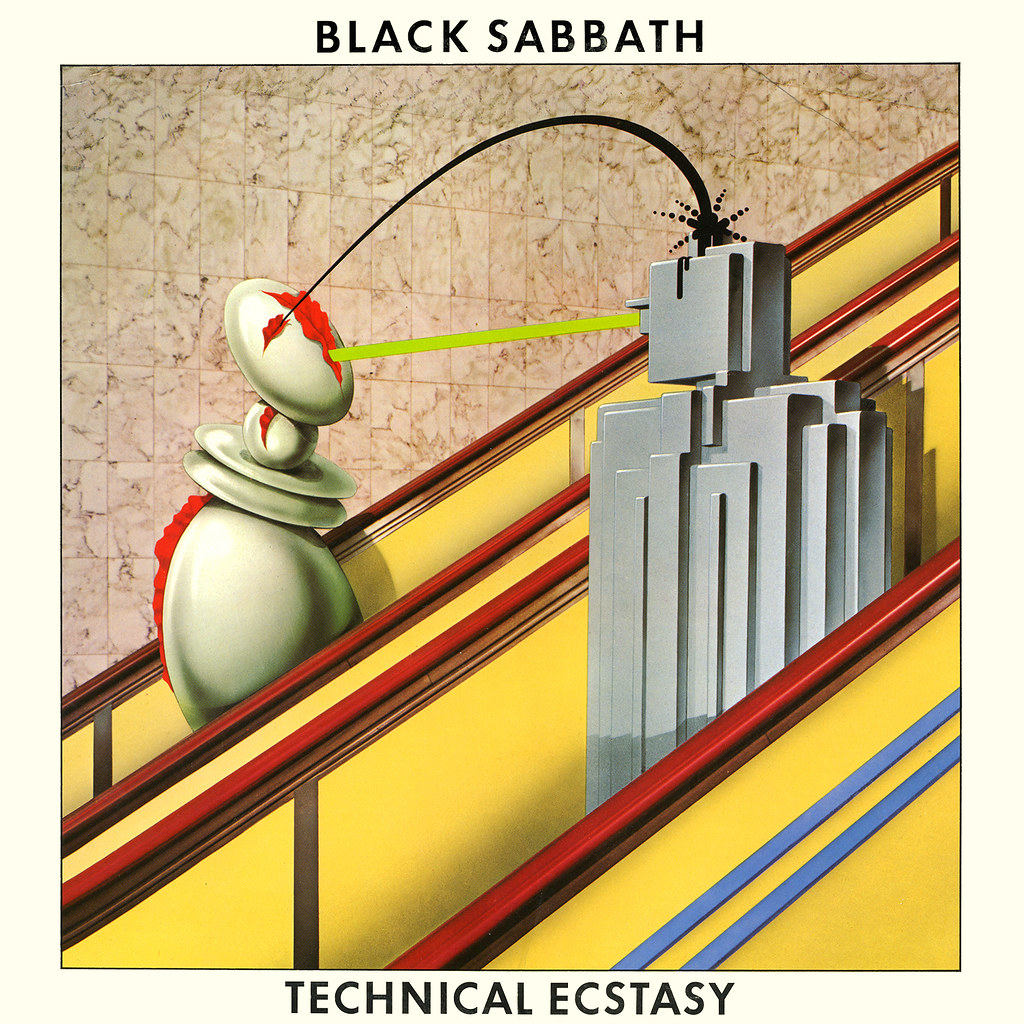 Technical Ecstasy Lp Cover Art