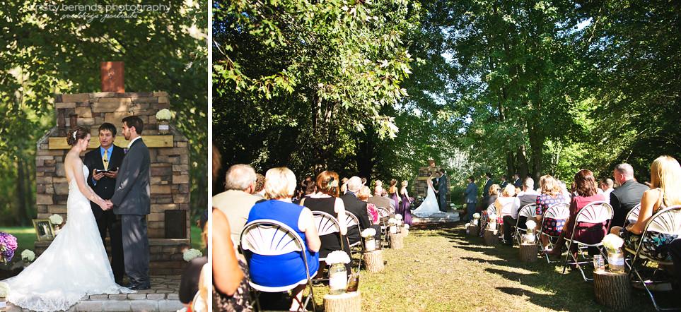 32 outdoor Wedding Ceremony