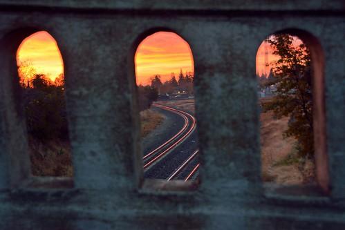 california bridge sunrise dawn railtrack 18200f3556gvr infinitexposure
