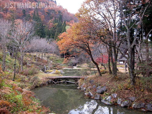Colors of Autumn in Shirakawa-Go