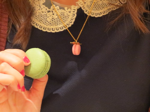 Macaron with my macaroon necklace