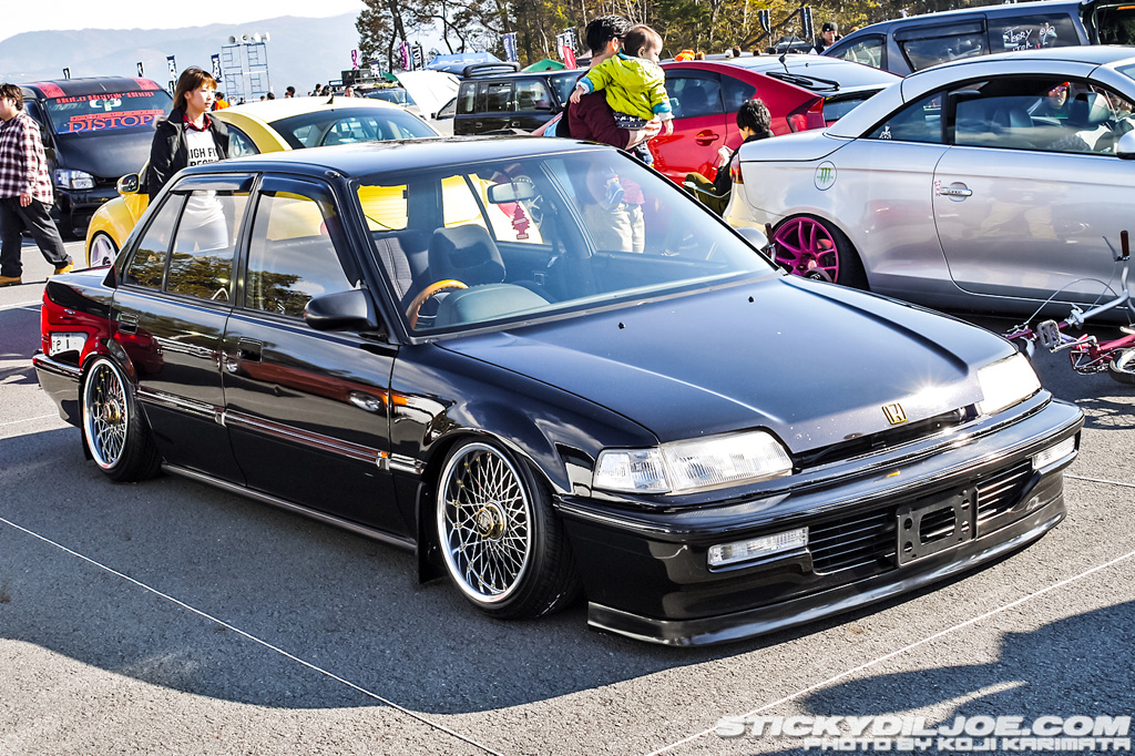 Ef Civic Sedan: Are These 15's Or 16's? Ewing Mes On Black EF Sedan