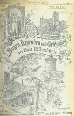 """British Library digitised image from page 125 of """"Sagen, Legenden und Geschichten der Stadt Nürnberg. Herausgegeben von J. M. Lotter. ... mit 95 abbildungen"""""""