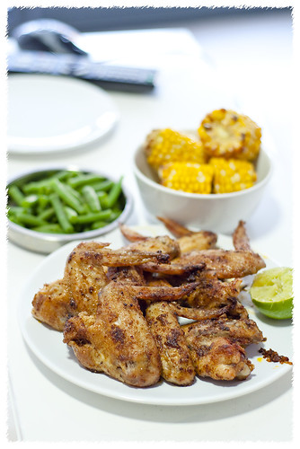 Braai Spice Dry Rub Grilled Chicken Wings