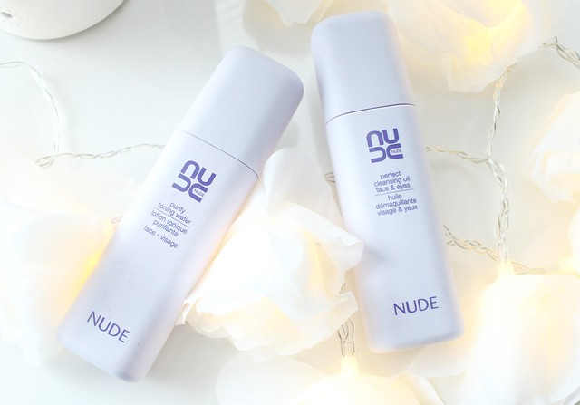 NUDE Cleansing Oil and Purify Toning Water
