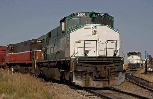 railroad canada railway trains canadian sk saskatchewan alco mlw assiniboia m420