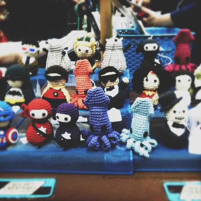 crochet amigurumi superheroes