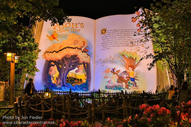 DDE May 2013 - Tokyo Disneyland at Night