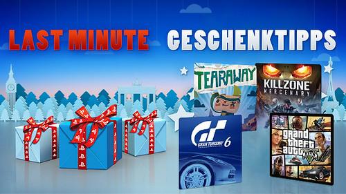 Last Minute PlayStation-Geschenke