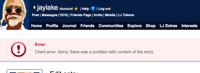 2013-12-29 LiveJournal Error Message