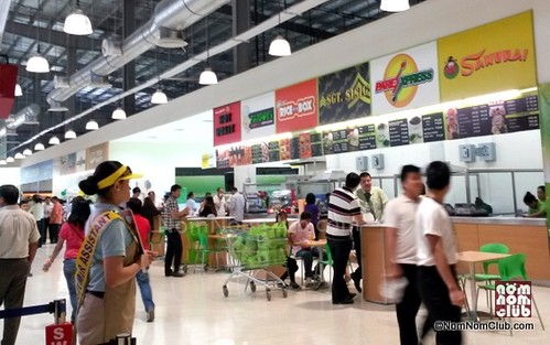 Food Stalls in SM Hypermarket