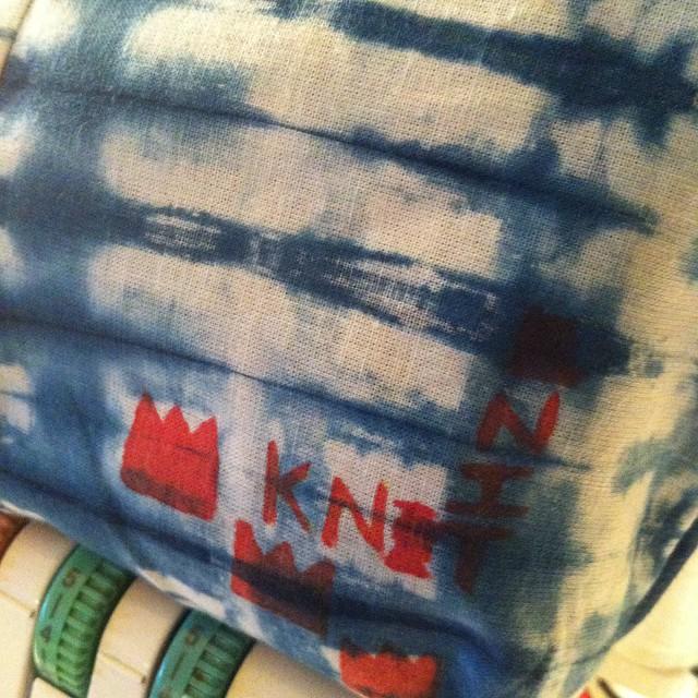 Basquiat, Shibori & Indigo