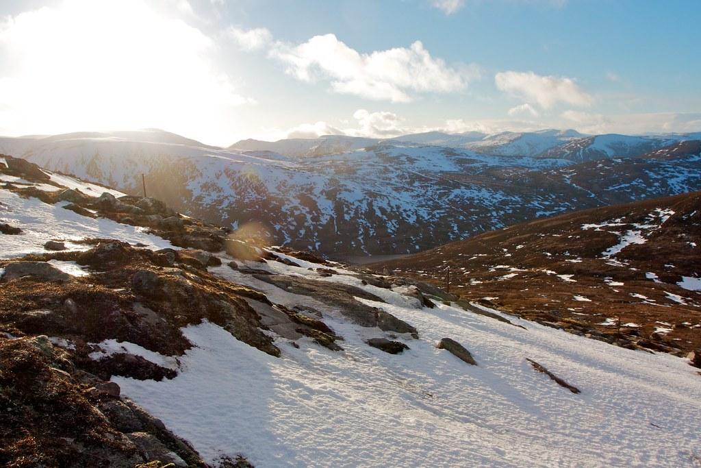 Sunlight in Glen Callater