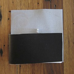"Iron Craft '14 Challenge 1 - No Sew ""Leather"" Card Wallet"