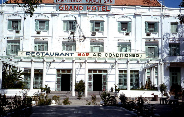 1968 Grand Hotel in Vung Tau (US Officers stayed there)