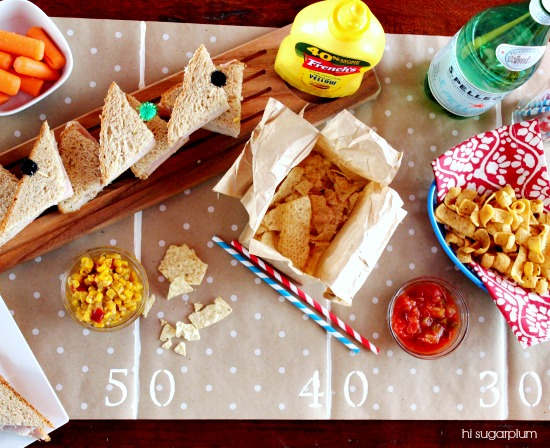 Hi Sugarplum | Game Day Table