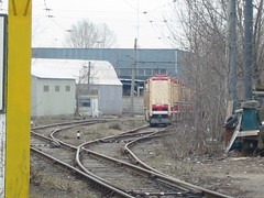 Moscow tram LT-5 delivery from factory_20030410_101