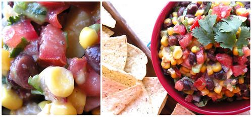 Mrs. Fields Secrets Corn and Black Bean Salsa