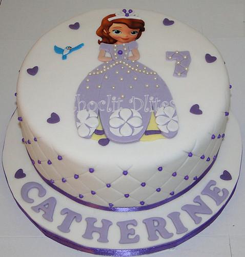 Catherine S Princess Sofia Cake Loved Making This Cake Ha Flickr