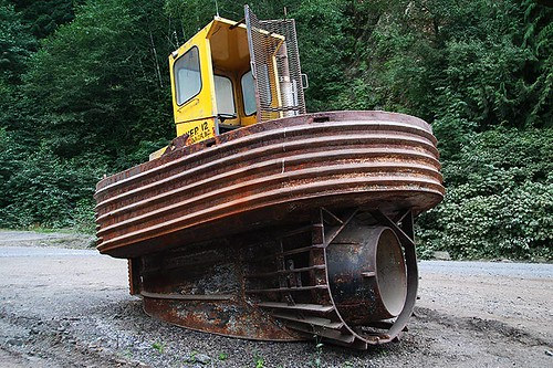 Sidewinder Tug near Holberg, Holberg Inlet, North Vancouver Island, British Columbia, Canada