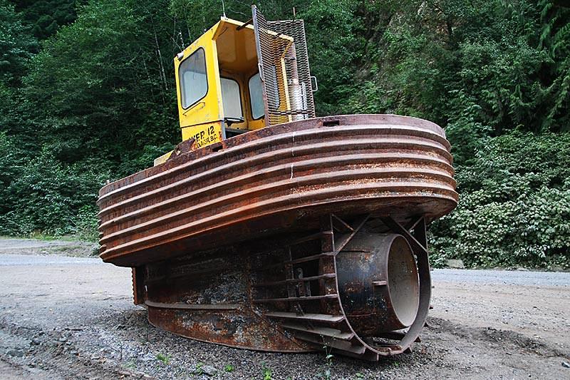 Sidewinder Tug near Holberg, Holberg Inlet, North Vancouver Island, British Columbia, Canada