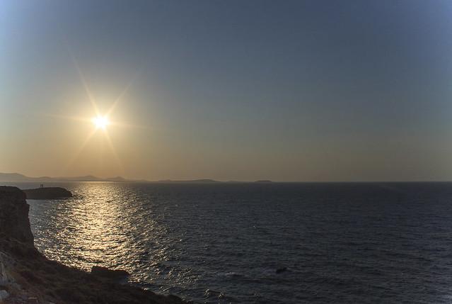 Naxos Island - Chora - Tramonto da Grotta