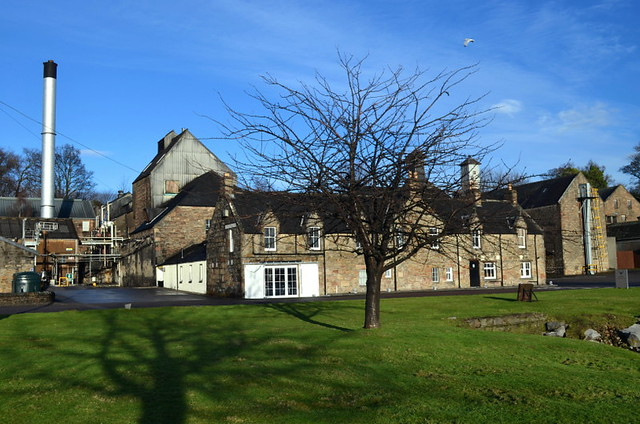 Dalmore Whisky Distillery in Alness (Scotland)