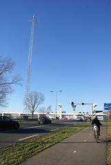 C2000-basisstation bij Schiphol-Oost