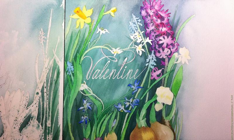 page 7 flower Valentine (process)