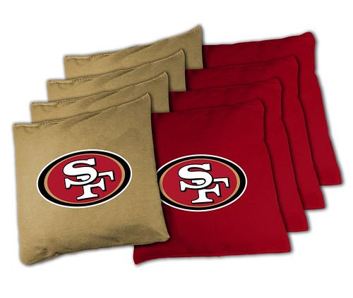 San Francisco 49ers Cornhole Bags