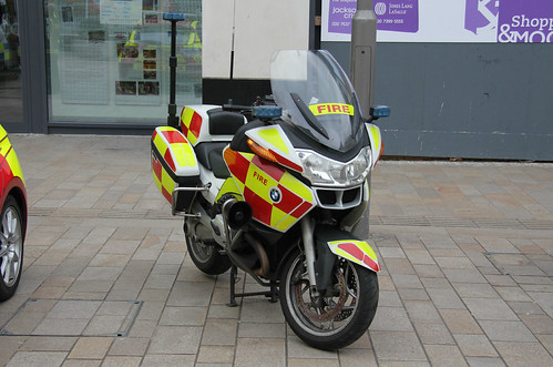 South Yorkshire Fire & Rescue Service BMW R1200Rt Road Safety Awareness Vehicle