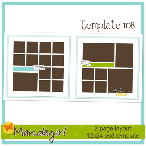 Template 108 preview -Mandagirl