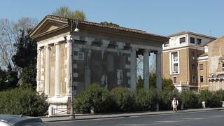 Temple of Portunus の画像. italy rome lazio italië piazzaboccadellaverità