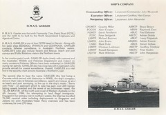 Freedom of the Town given to  HMAS Gawler 26April1986 (4)
