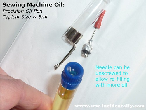 06 - Sewing Machine Oil - Precision Pen (5ml)