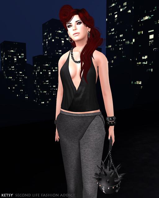 Friday Night City - FLF, New Post @ Second Life Fashion Addict