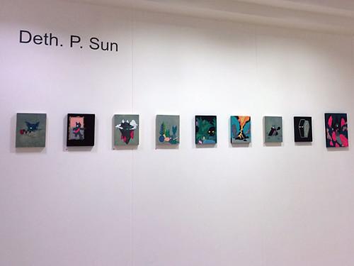 Deth P Sun at Leeds College of Art